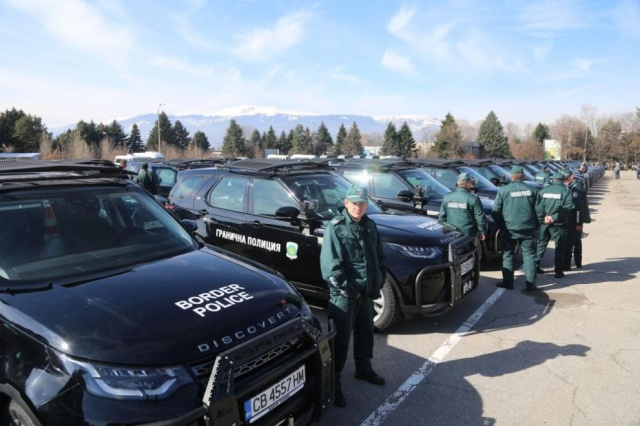 Bulgaria: The Bulgarian Ministry of Interior Supplies the Border Police with New Crossover Vehicles