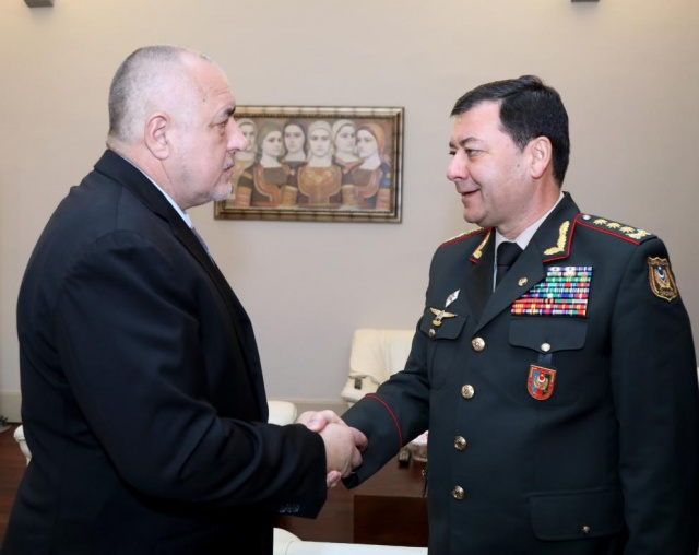 Bulgaria: PM Borisov: Good Relations between Bulgaria and Azerbaijan are the Basis for a Successful Military Partnership