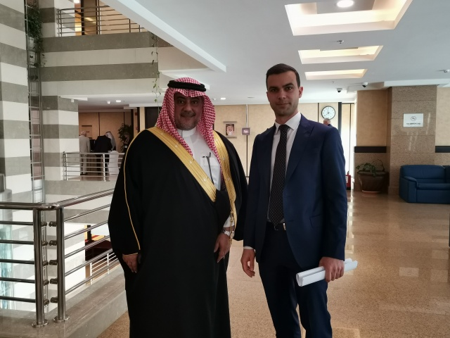 Bulgaria: Executive Director of BSMEPA Boyko Takov Met with Deputy Chairman of the Council of Saudi Chambers Munir Muhammad Nasser Bin Saad