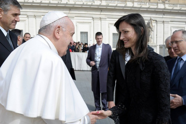 Bulgaria: Maria Gabriel Talks with Pope Francis About New Technologies and the Defense of Public Values