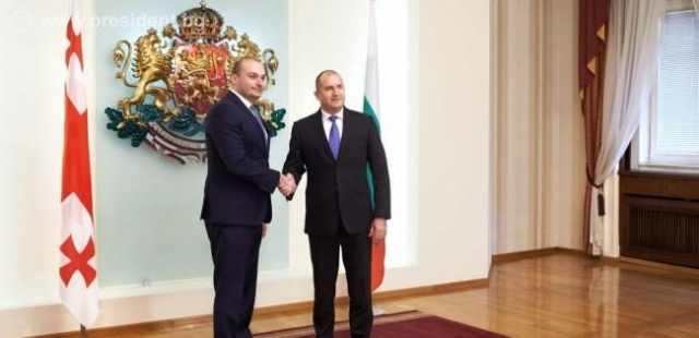 Bulgaria: The Search For Opportunities to Intensify Bilateral Economic Exchanges And Cooperation - Among the Topics of Today's Meeting Between Rumen Radev and Mamuka Bakhtadze