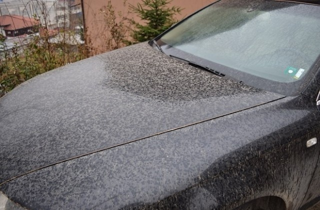 Bulgaria: Rain with Sand from Sahara in Smolyan
