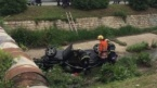 A Car Ran over Three Girls and a Boy in Sofia and Fell into the Perlovska River