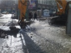 Several Central Areas in Sofia without Water after an Accident
