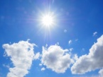 Sunny and Hot Today, Maximum Temperatures Between 29°C and 34°C