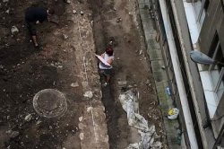 Bulgaria: A Roman Wall Was Found During the Renovation of 'Malko Tarnovo'' Street