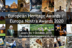 European Awards For Cultural Heritage Await Nominations