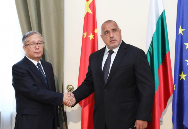 Bulgaria: PM Boyko Borissov Held a Meeting with a Delegation from China