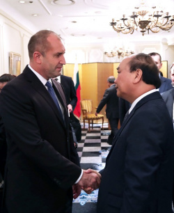 Bulgaria: Bulgaria's President Rumen Radev and Vietnam's Prime Minister Discuss Prospects for Expanding Bilateral Economic and Investment Partnership