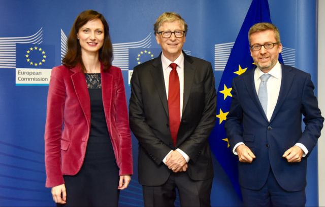 Bulgaria: Mariya Gabriel Met with Bill Gates