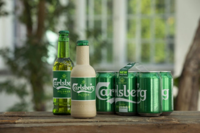 "Bulgaria: Carlsberg Group Develops the World's First ""Paper"" Beer Bottle"