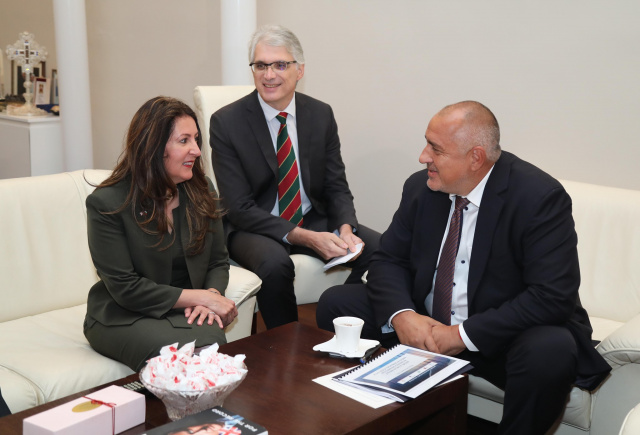 Bulgaria: PM Borissov Met with the New US Ambassador to Bulgaria, Herro Mustafa
