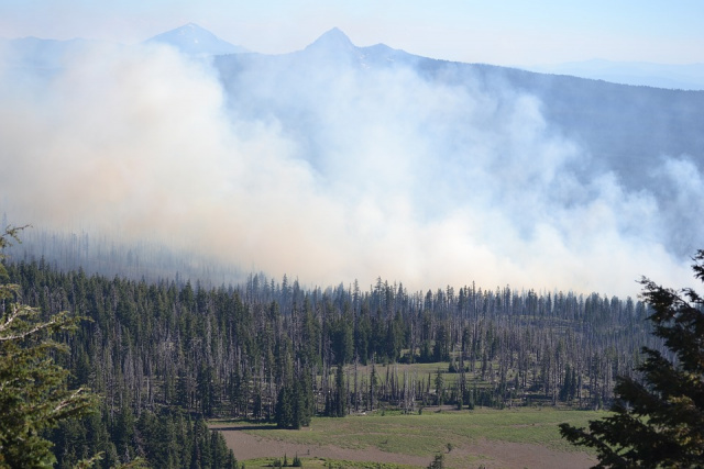 Bulgaria: Second Large Wild Fire in Rila Mountains