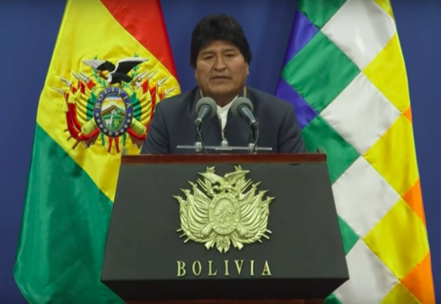 Bulgaria: Evo Morales Wants the UN to Mediate the Conflict in Bolivia