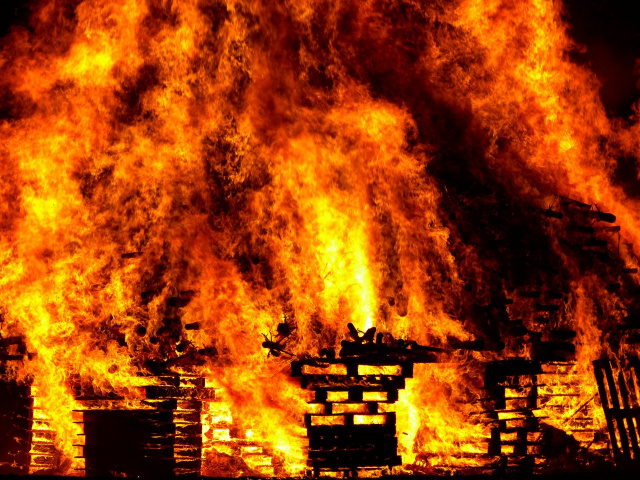 Bulgaria: Huge Fire in a London Hotel