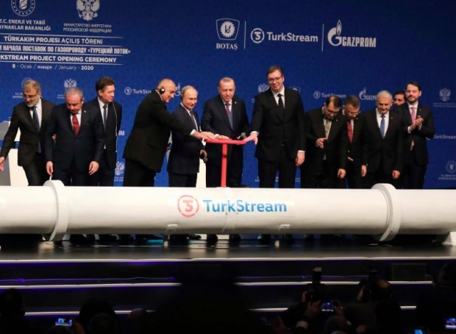 Bulgaria: Three Presidents and a Prime Minister Launched TurkStream