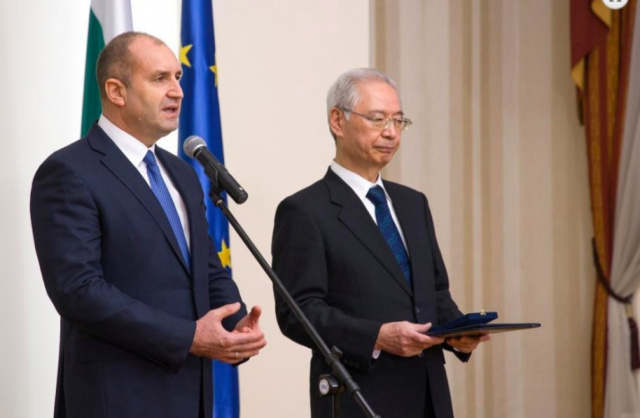 Bulgaria: Rumen Radev: The Partnership between Bulgaria and Japan Provides the Opportunity for our Speeded-up Development as a Country of High Technologies and Science