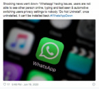 WhatsApp Down? - Thousands of Users Report Problem with the App