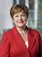 IMF's Kristalina Georgieva: Virus Crisis Could Ultimately Test $1 Trillion War Chest