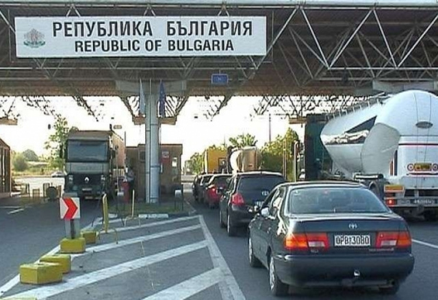 Bulgaria: Queues at Border Checkpoints of Bulgaria with Greece