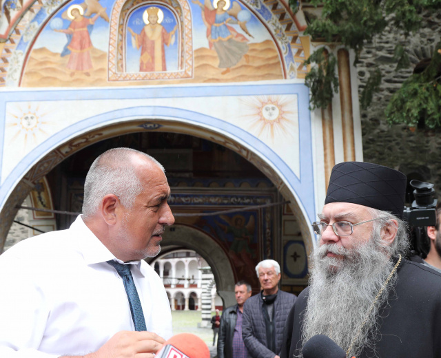 Bulgaria: PM Boyko Borissov in Rila Monastery: We Have Done Everything We Promised