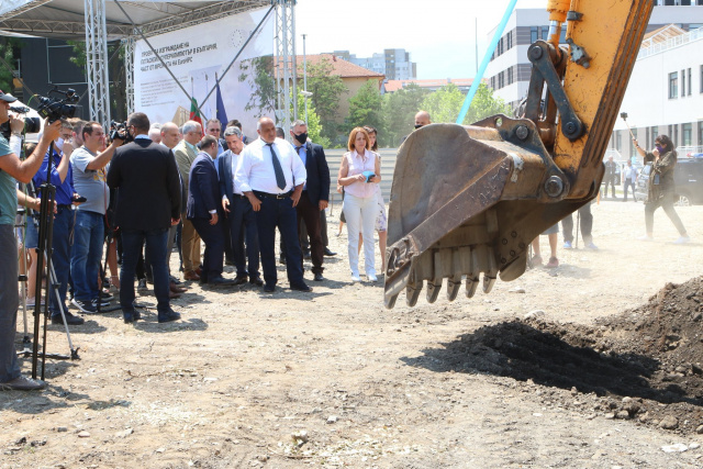 Bulgaria: PM Borissov on First Sod of The Supercomputer in Sofia: Bulgaria is Becoming a Digital Hub in the Region!