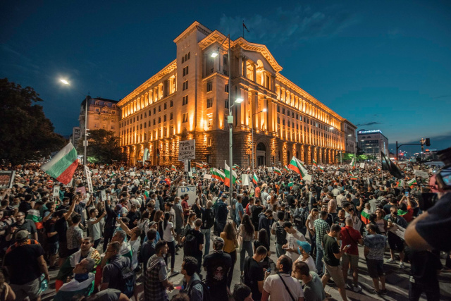 Bulgaria: Protests in Bulgaria: Seventh Day in a Row