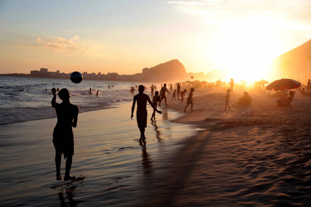 Bulgaria: Spot on the Beach in Rio de Janeiro Only by App Reservation