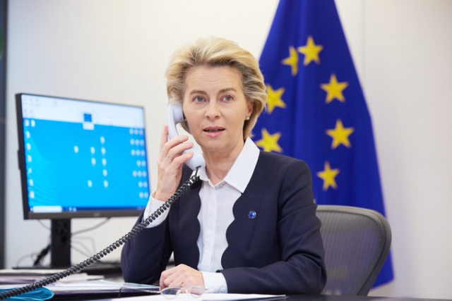EU's Ursula von der Leyen in Isolation After Exposure to COVID-19