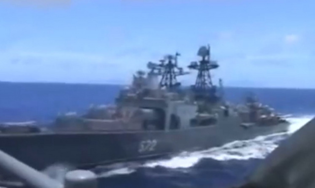 Bulgaria: Russia Claims Its Ship 'threatened to ram' US Ship in Sea of Japan