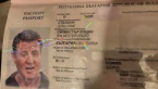 Hollywood Action Hero Sylvester Stallone with Fake Bulgarian Passport, Found in a Police Operation
