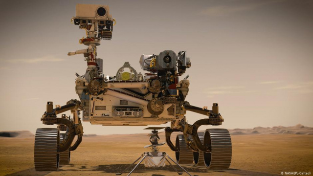 Bulgaria: NASA Lands Rover and First-ever Helicopter on Mars