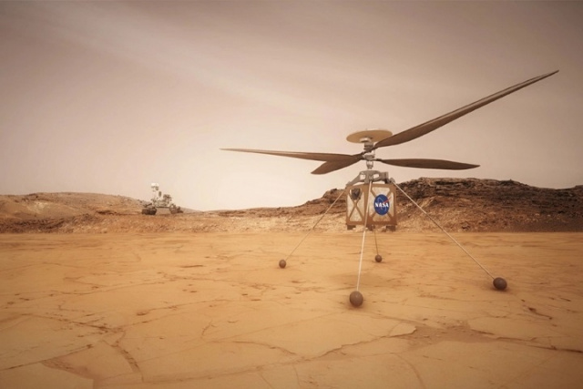 Bulgaria: NASA's Ingenuity Helicopter Prepares for First Flight on Mars