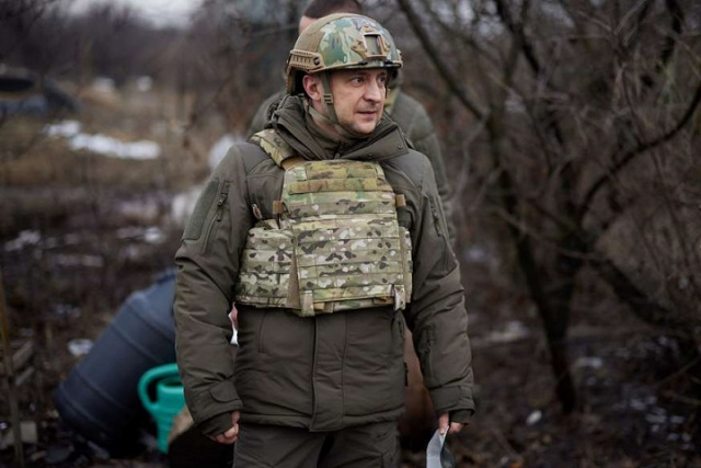 Bulgaria: Ukraine's President Goes to Donbass as Russia Builds up Troops on Common Border