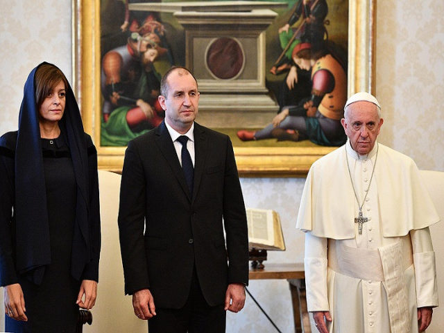 Bulgaria: His Holiness Pope Francis Receives President of Bulgaria Rumen Radev