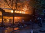 Big Fire at Pernik's Market Last Night