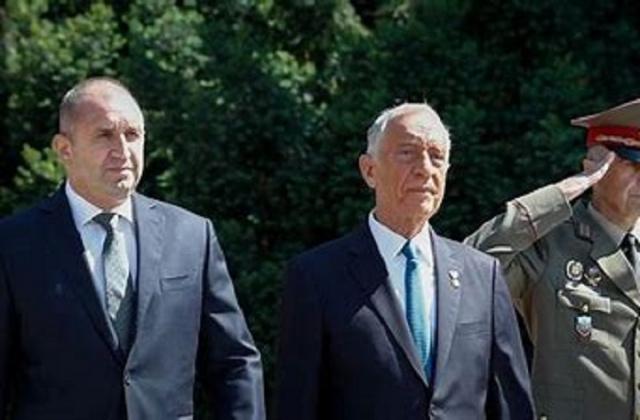 Bulgaria: Bulgaria's President Radev Discusses EU Integration of Western Balkans with His Portuguese Colleague