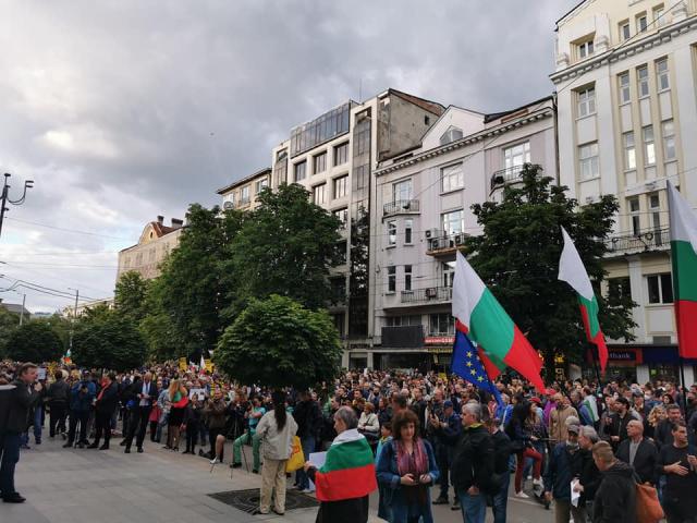 Bulgaria: Protest in Sofia against Prosecutor General Ivan Geshev