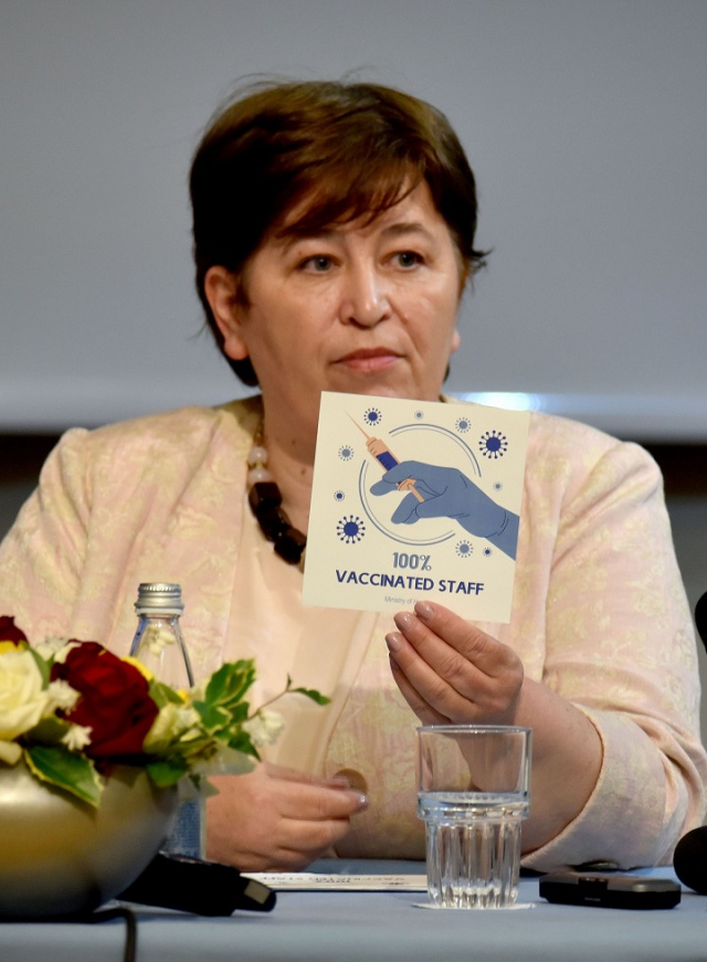 Bulgaria: Bulgarian Hotel- and Restaurant-Keepers Lash out at Vaccination Stickers