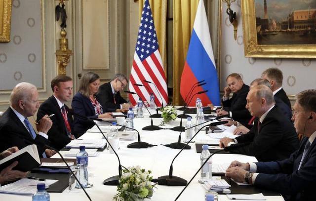 Bulgaria: Putin and Biden Begin Talks in Expanded Format