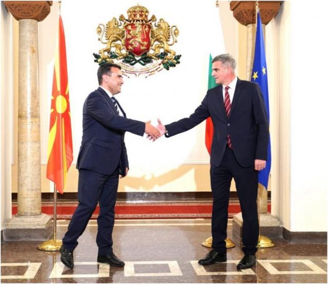 Bulgaria: Bulgarian PM Yanev Met with His N.Macedonian Counterpart Zaev