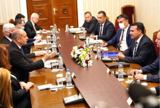 Bulgaria: Bulgarian President Radev Holds Meeting with N.Macedonian PM Zaev