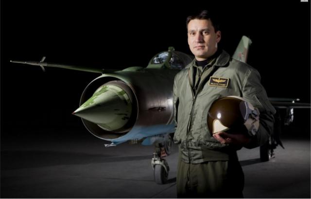 Bulgaria: MiG-29 Pilot Valentin Terziev,  Posthumously Awarded Order of St. George