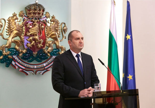 Bulgaria: President Radev: I Voted for a Country that Belongs to the Public Interest