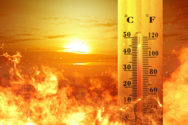 Bulgaria: Yellow Code for High Temperatures in Bulgaria, up to 40 Degrees