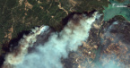 Turkey: Images from Space Show Dramatic Scenes of Fires in Turkey