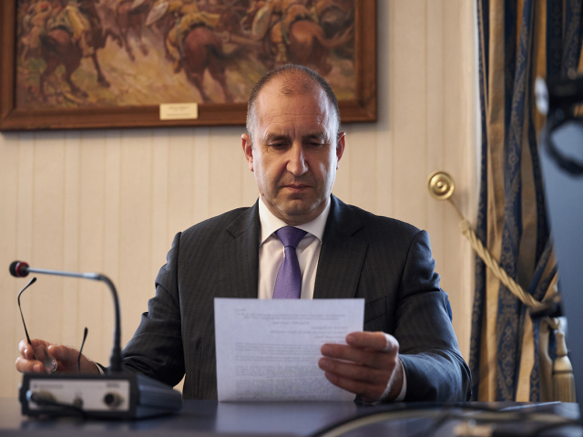 Bulgaria: President Radev Convenes National Security Consultative Council