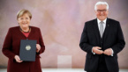 Merkel Received Document for Dismissal from the Post Chancellor of Germany