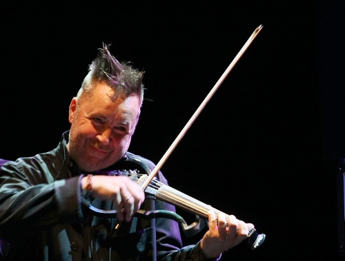 In pictures: Phenomenal violin player Nigel Kennedy staged another
