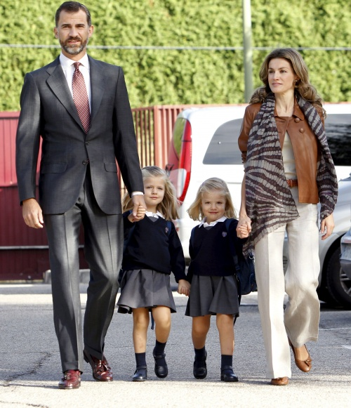 princess sofia of spain. (C-L) and Princess Sofia